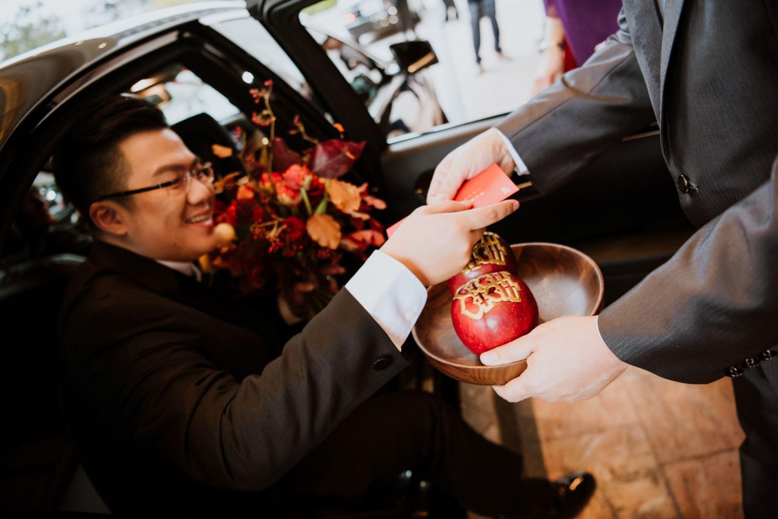 玉晶光電的公子娶老婆,在台中林酒店,聘請TWO in ONE婚禮顧問團隊