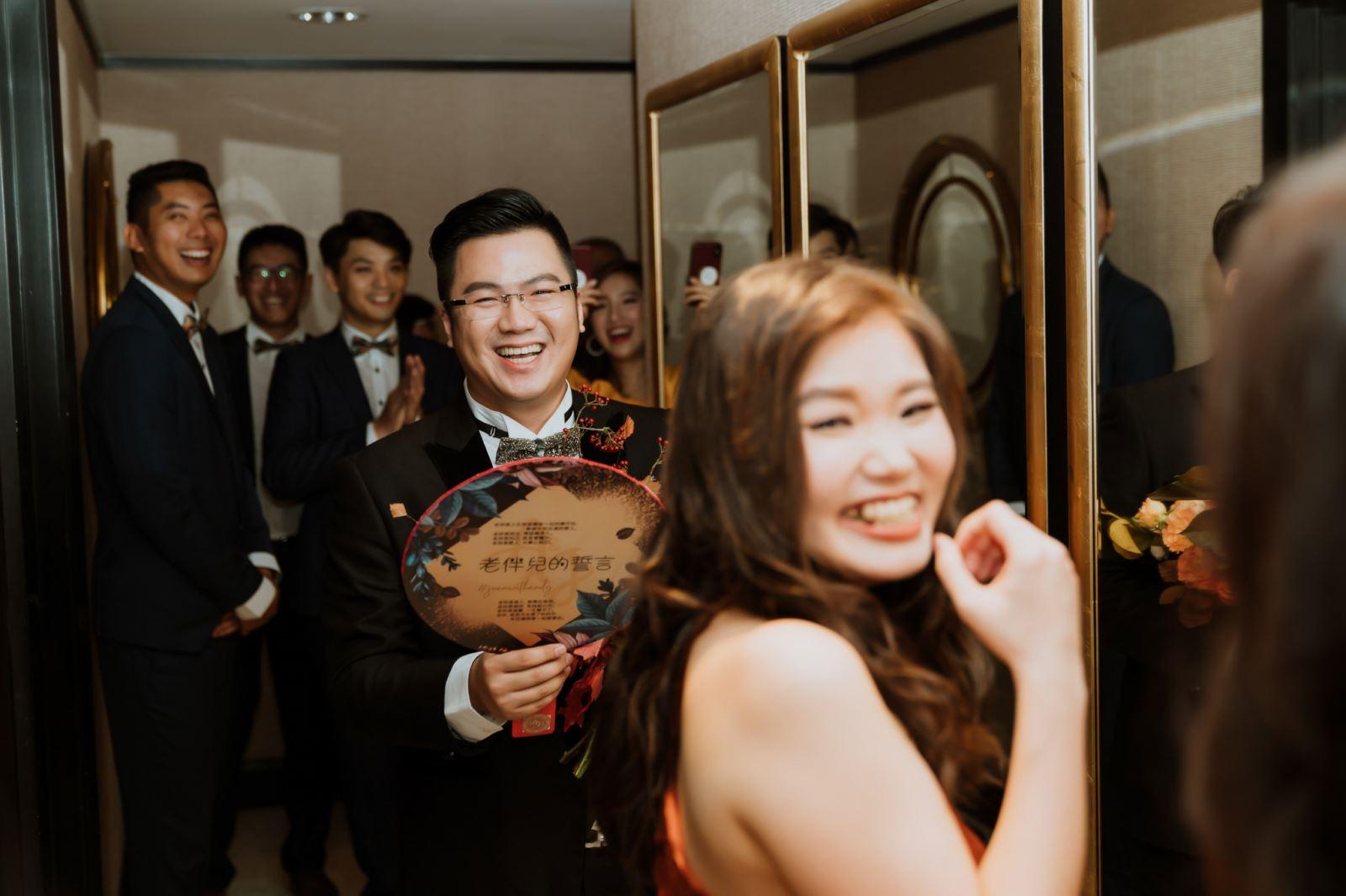 在台中林酒店,老婆我來娶妳回家了