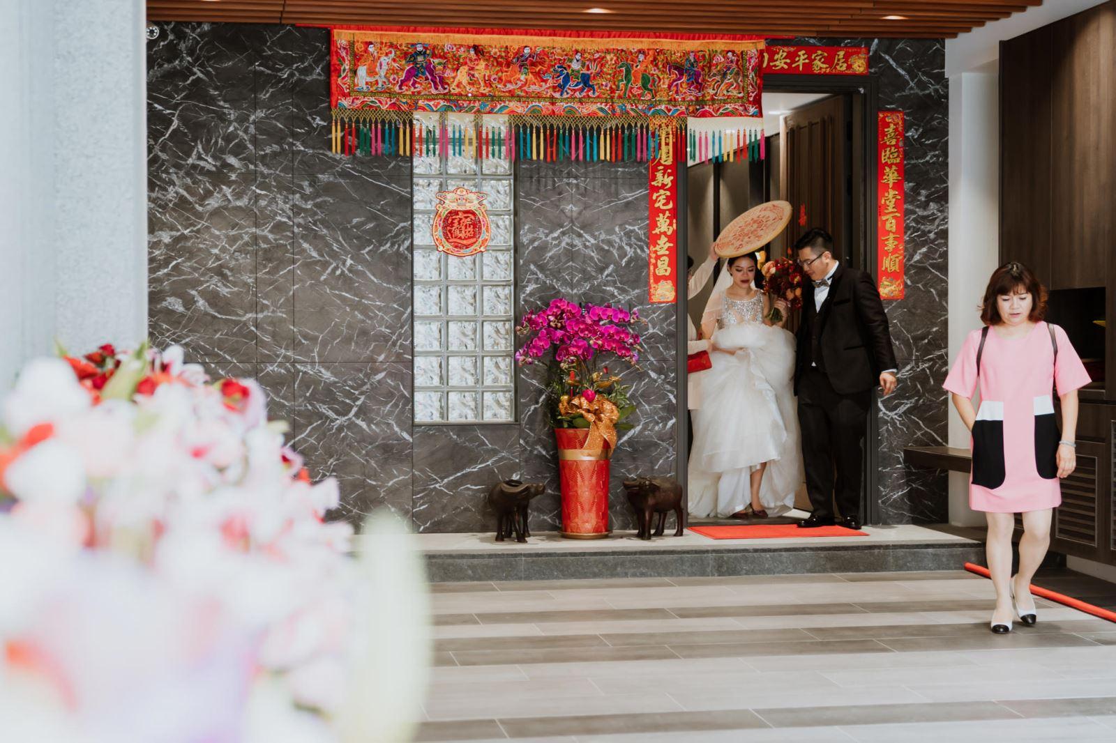 新娘出嫁在台中