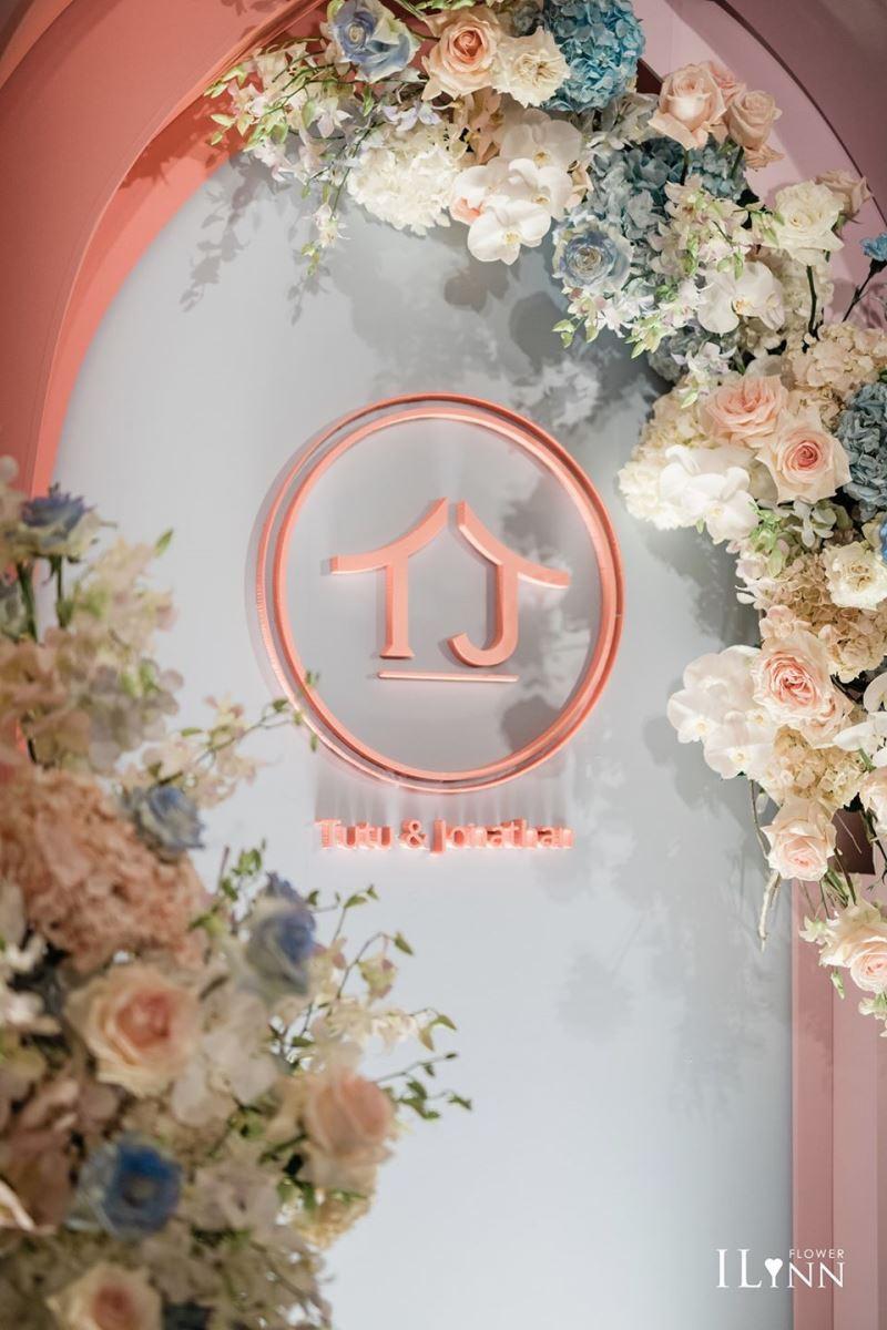 家的概念婚禮佈置