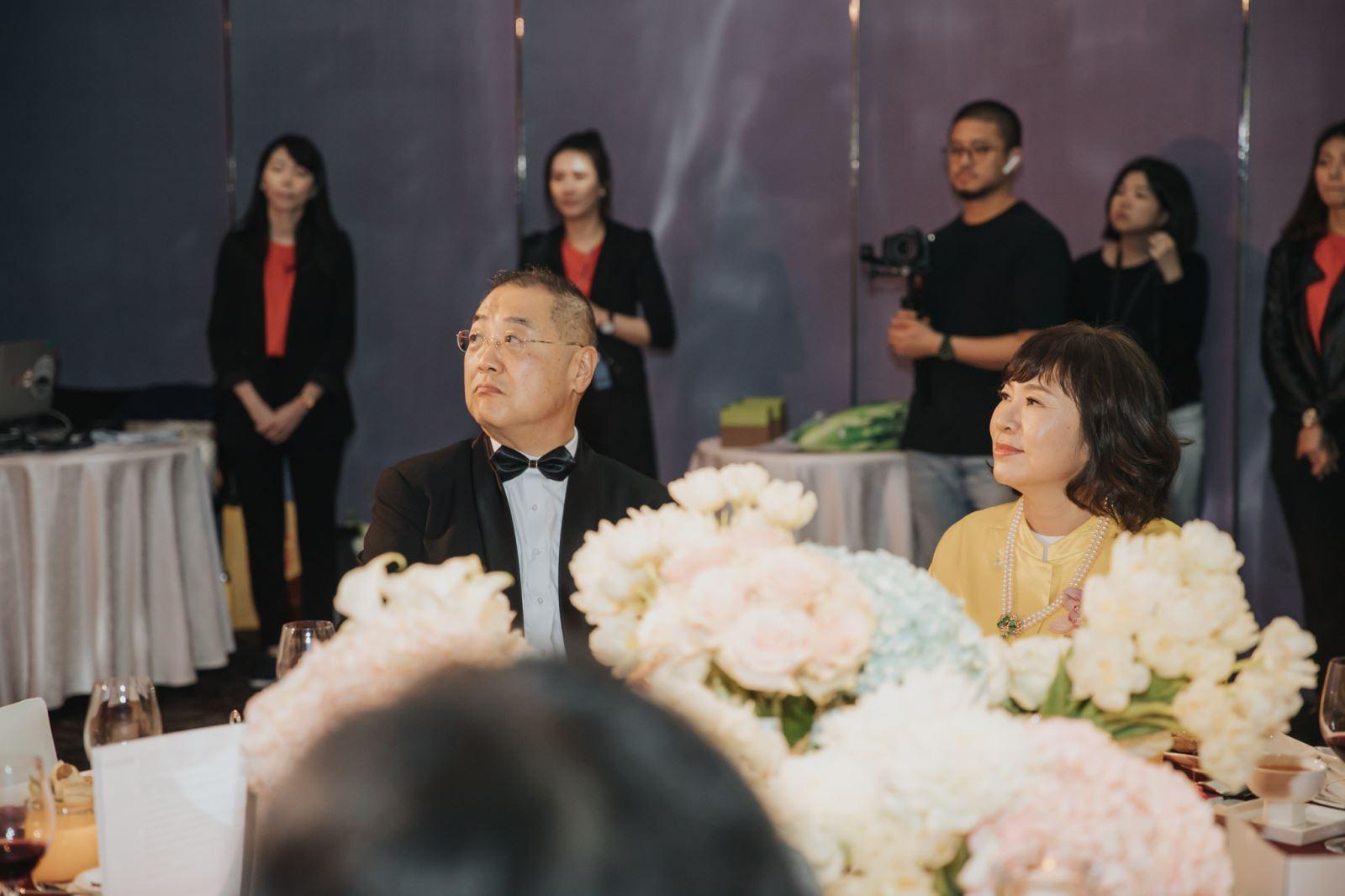 婚禮上有婚禮顧問團隊的幫忙,真好