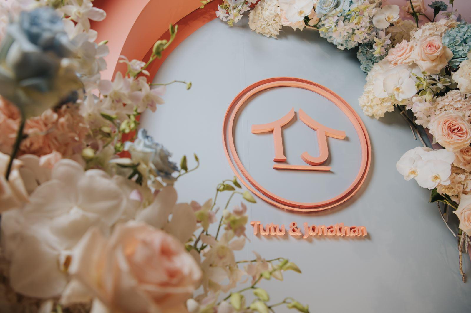 花藝的婚禮佈置,在W Hotel
