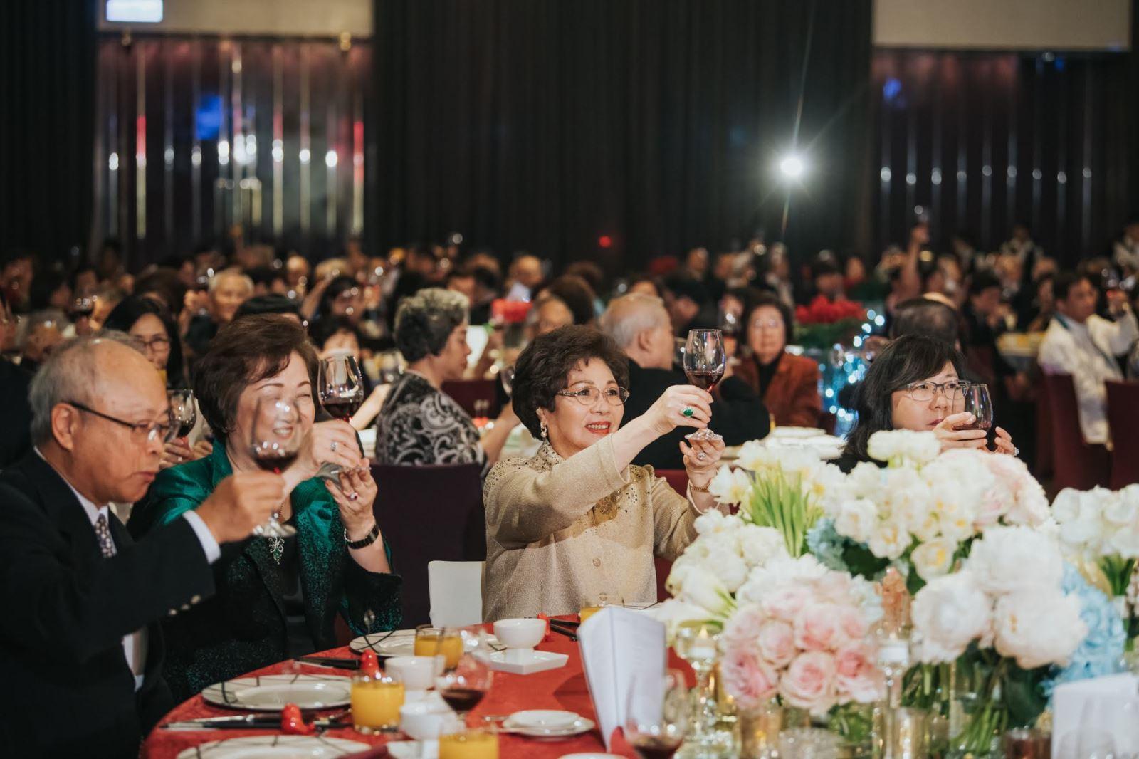 東方人的婚禮,如何讓長輩有餐與感
