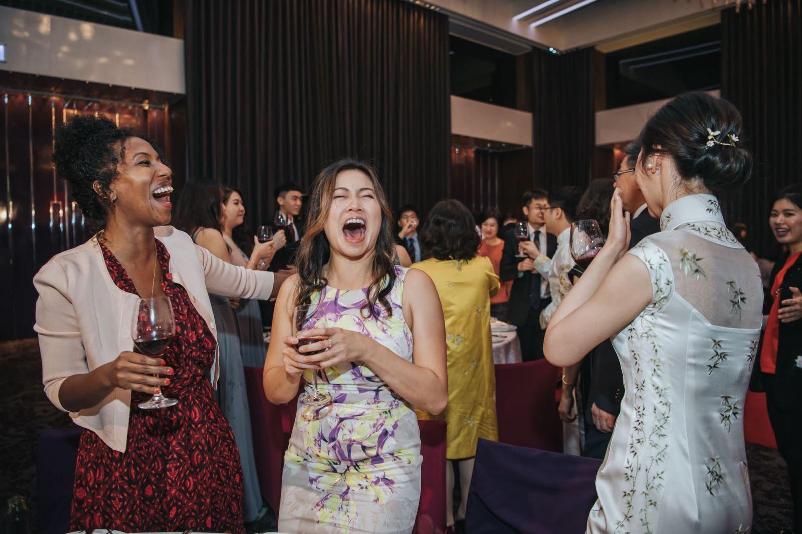外國人參加台灣的婚禮
