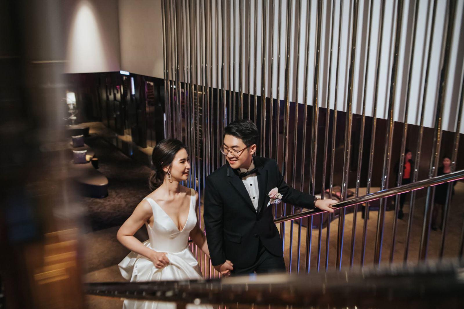 摩登現代的上海新娘