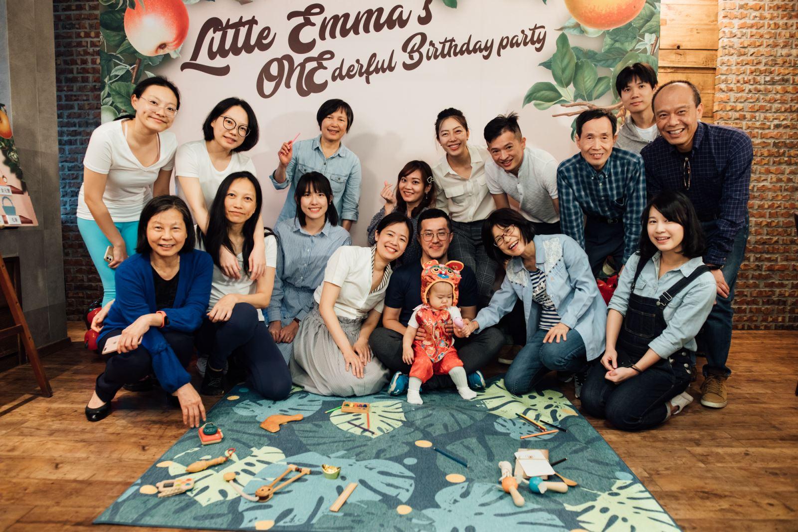 寶寶派對的大合照