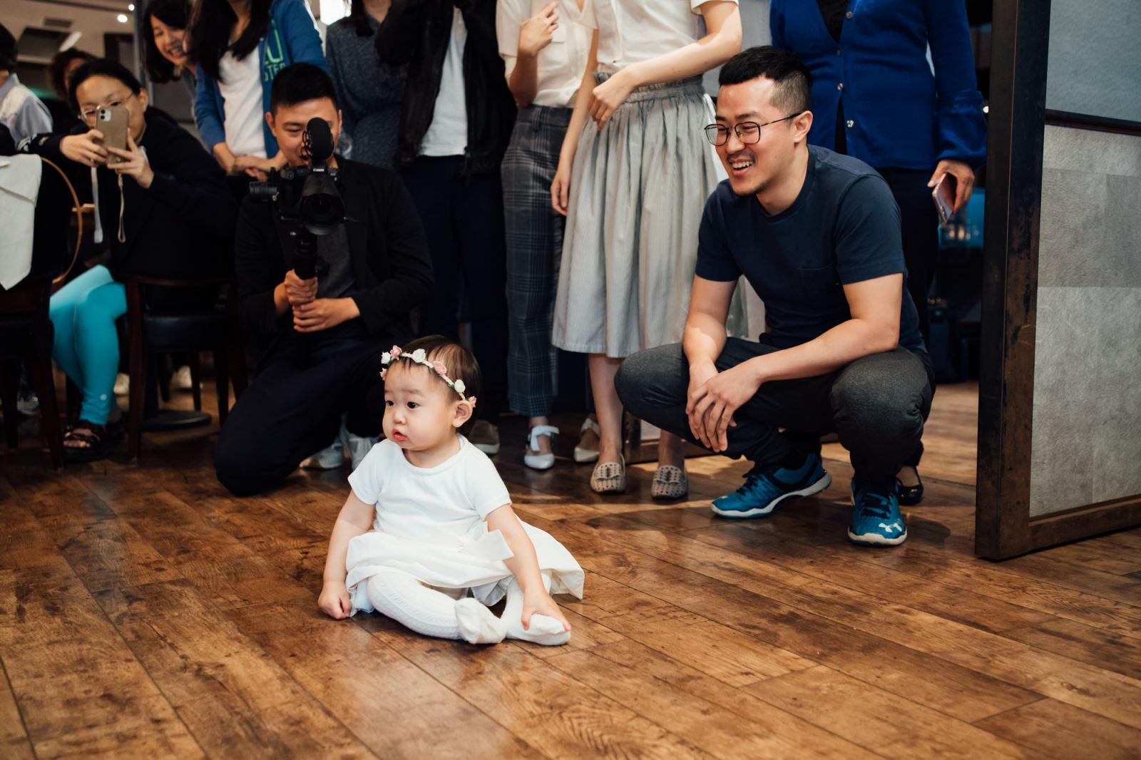 抓周派對的小遊戲,預測寶寶的未來老公