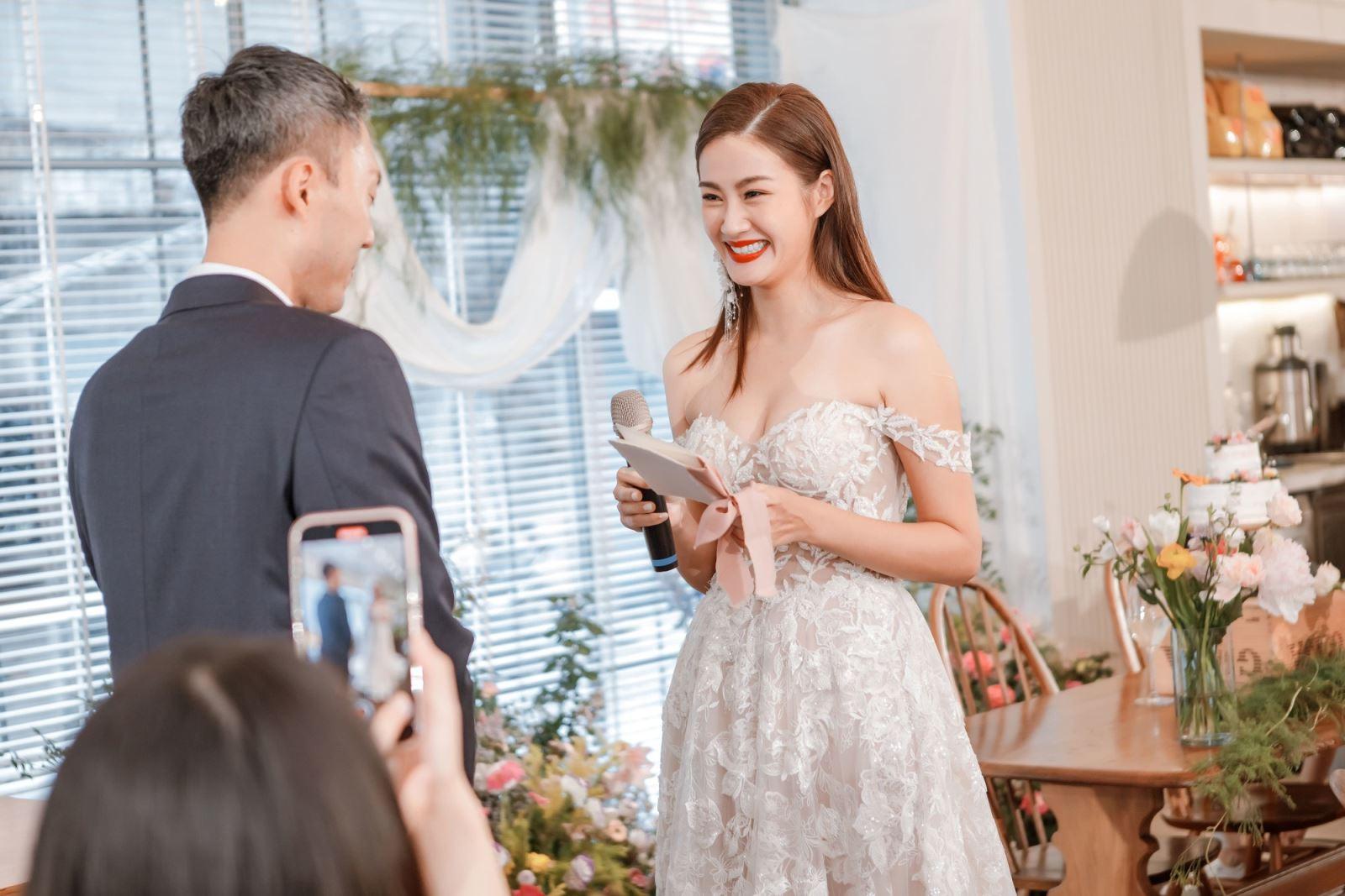 西式證婚不可缺少的交換誓言