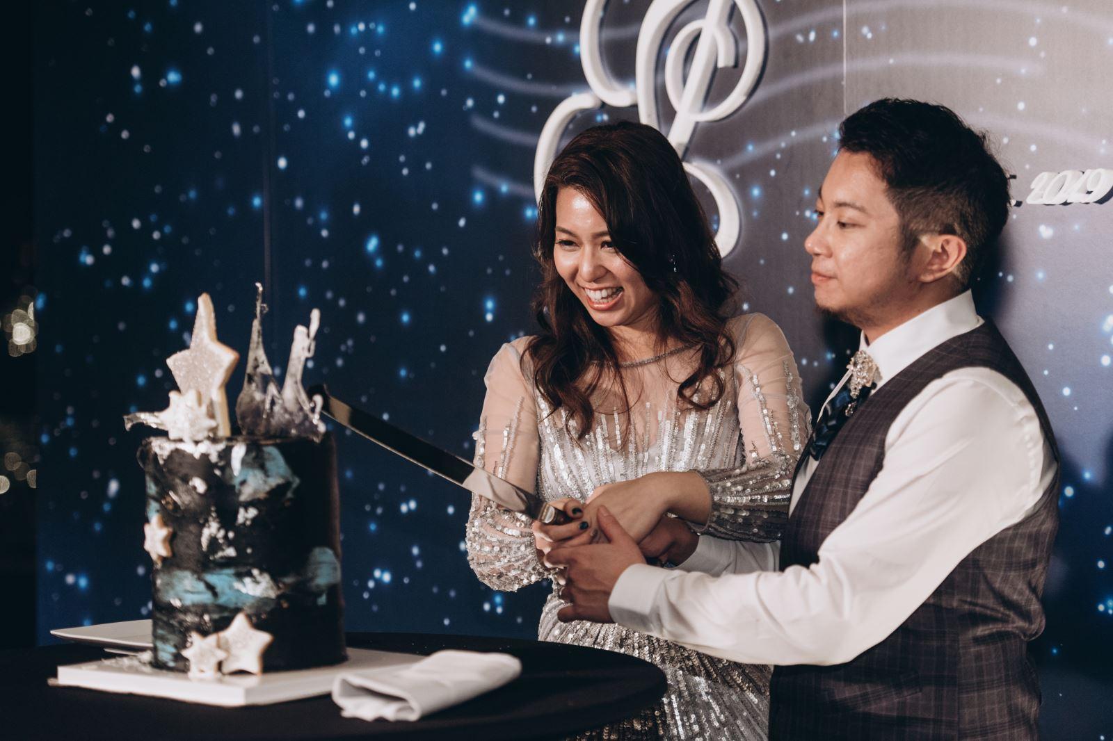 客製化結婚蛋糕,TWOinONE婚禮創意工作室也客製了你的婚禮故事