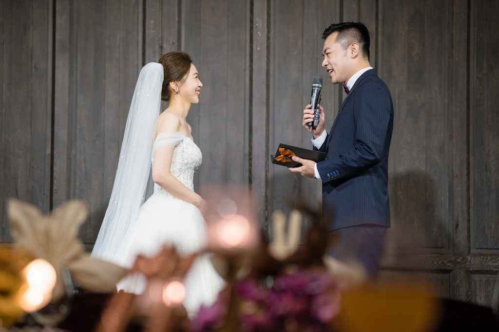 君品酒店,婚禮上的結婚誓言