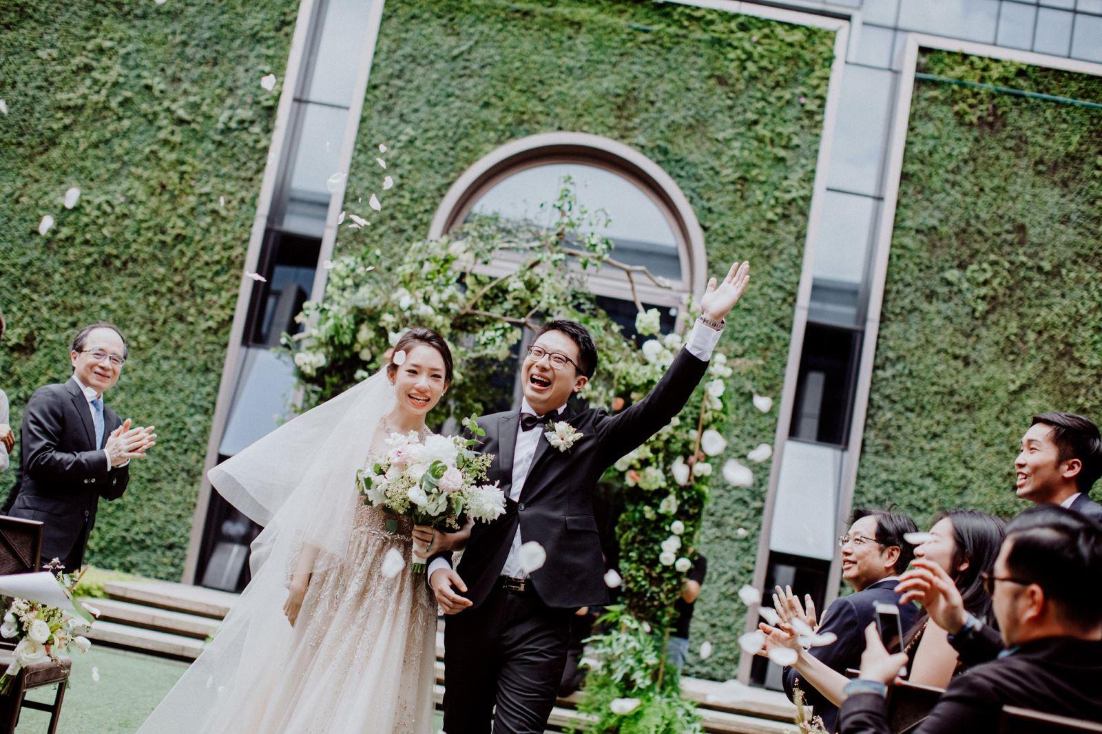 永不退流行的美式戶外婚禮