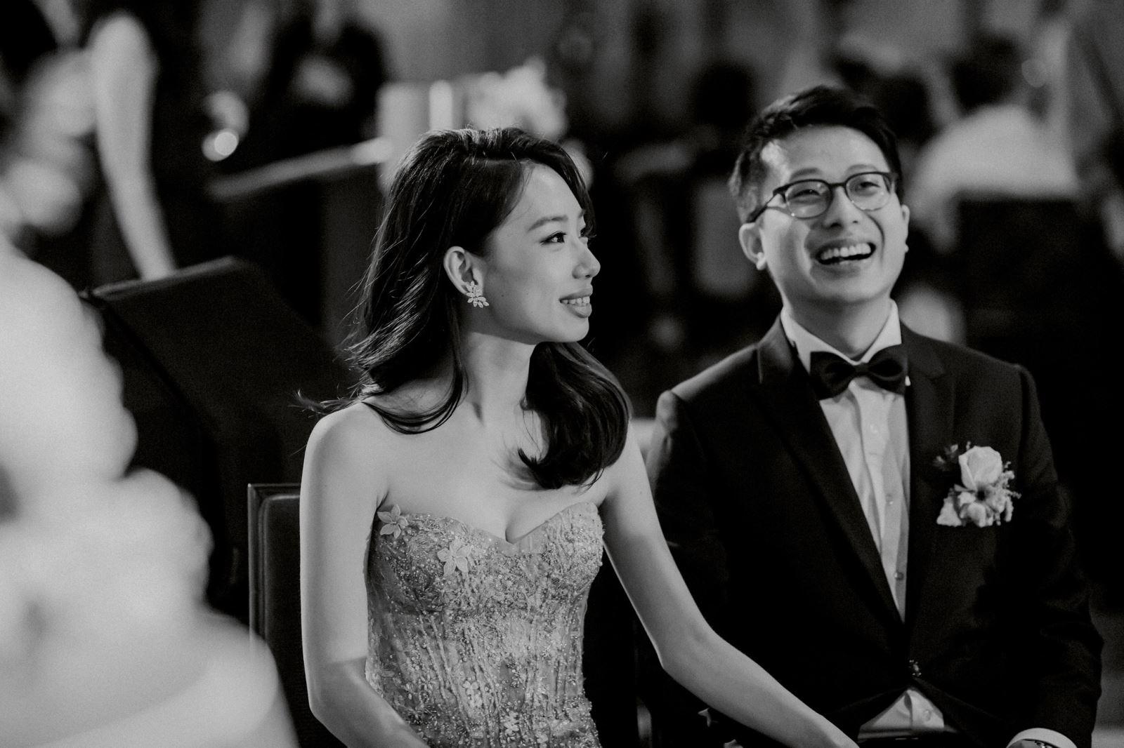 婚禮中的成長影片