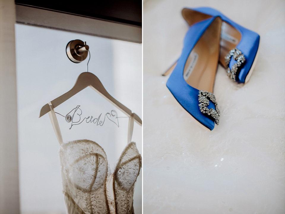 美式婚禮一定要拍新娘禮服與婚鞋