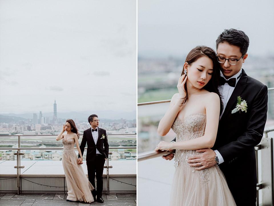 萬豪酒店的戶外婚禮