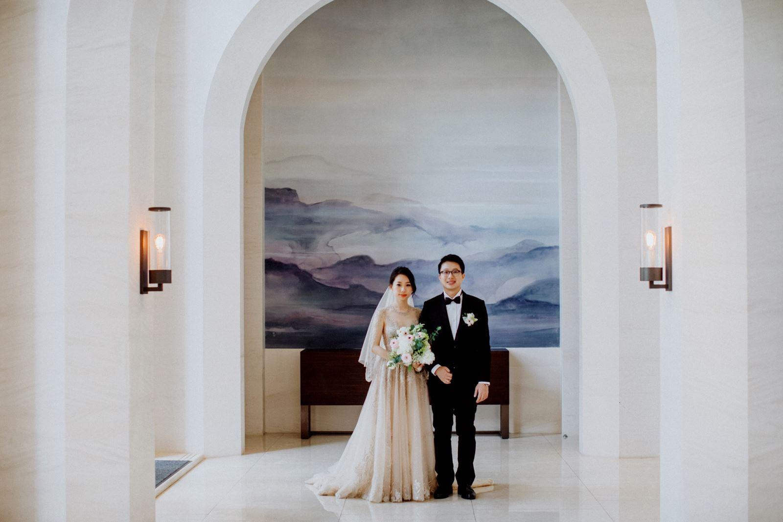 戶外婚禮首選,萬豪酒店