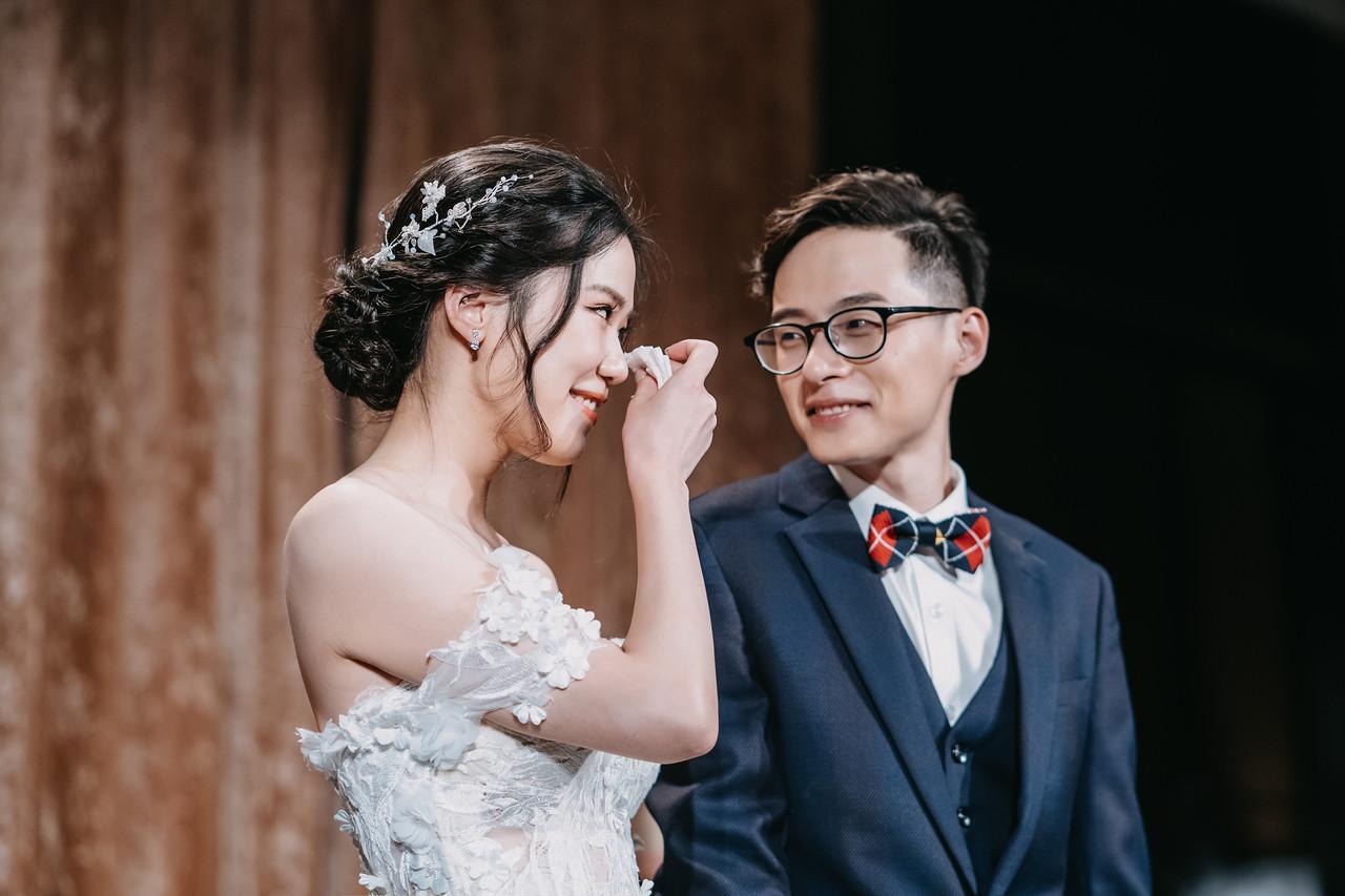 婚禮上最真實的淚水