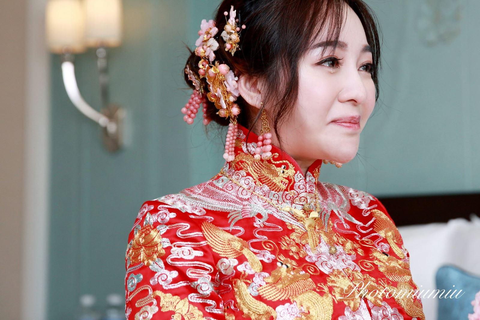 藤薰定制的新娘好美
