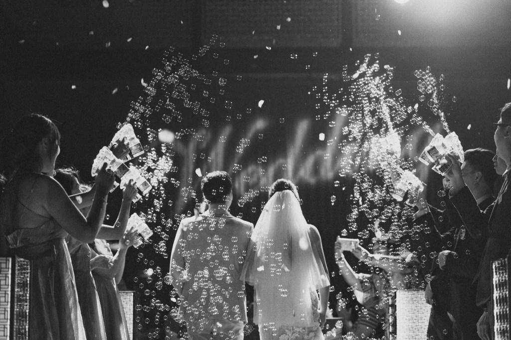 婚禮上的泡泡槍,夢幻泡泡