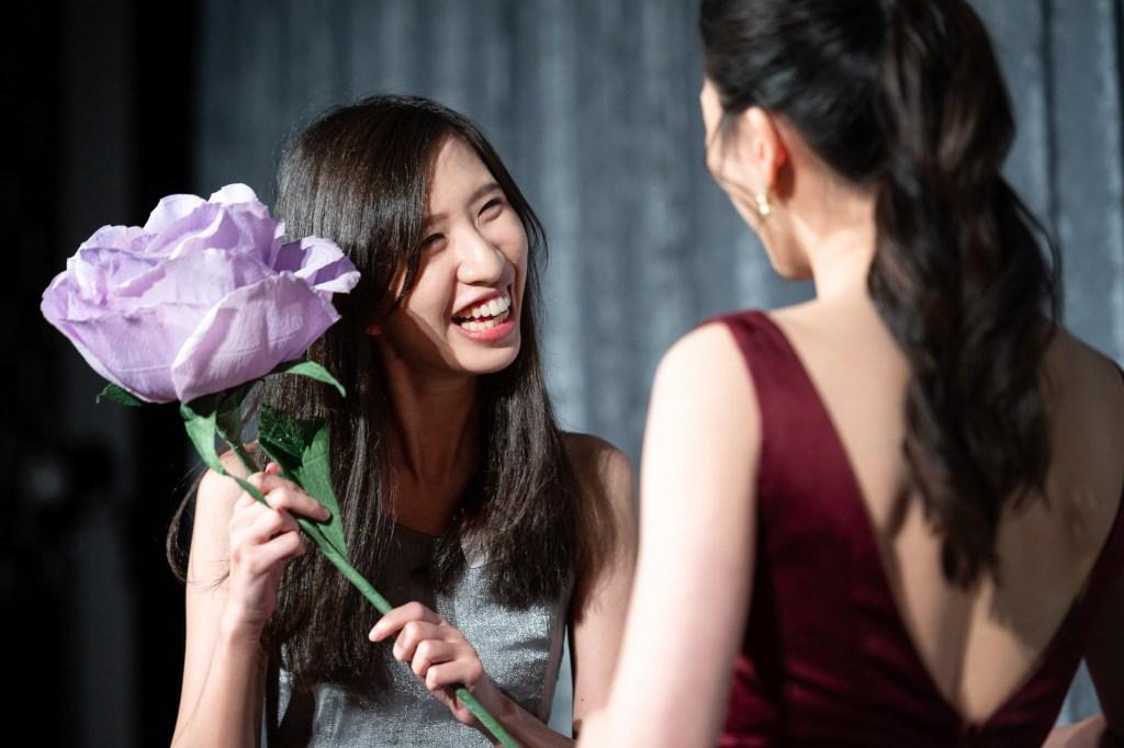 婚禮上的捧花活動