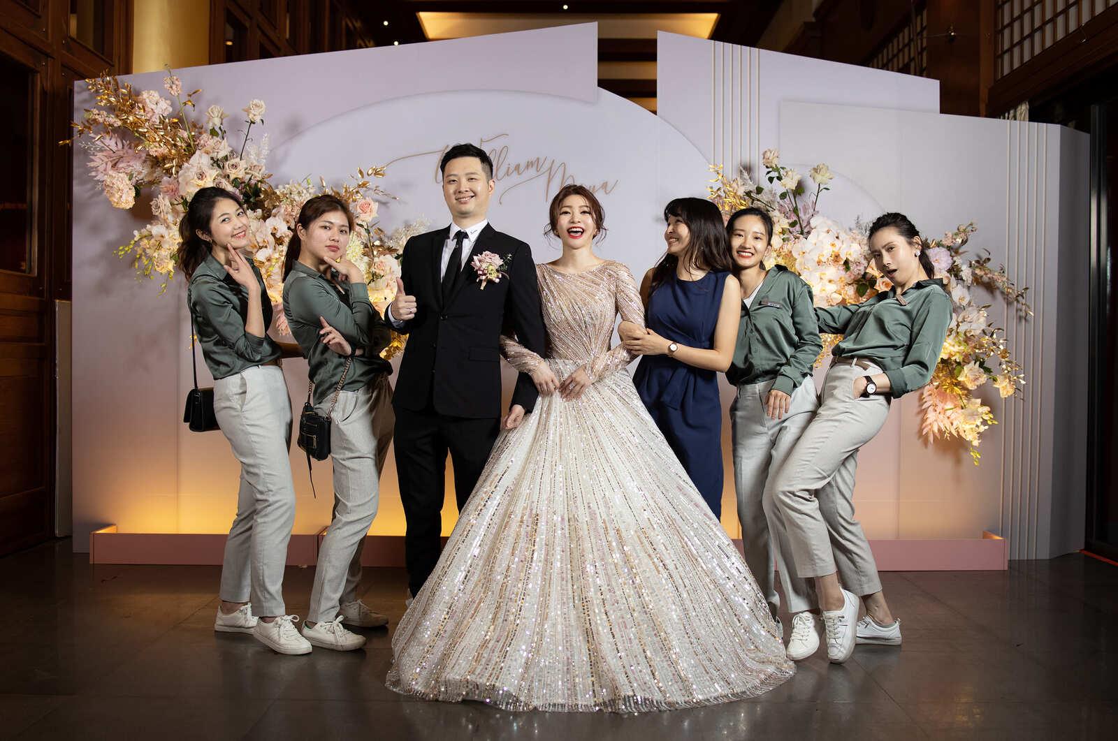 婚禮顧問統籌團隊