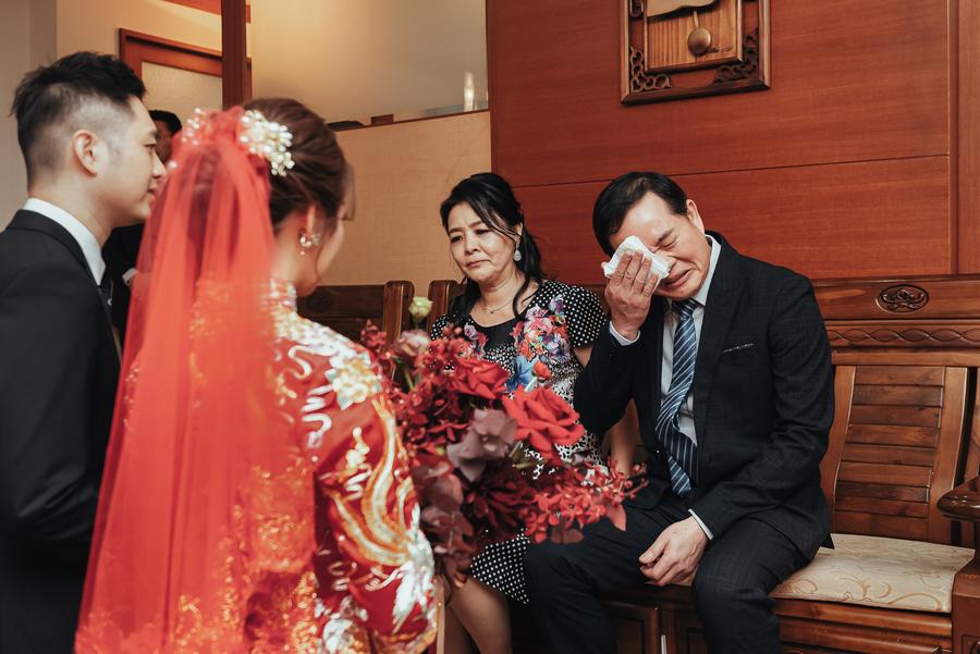 新娘父母給予寶貝女兒與女婿的祝福叮嚀