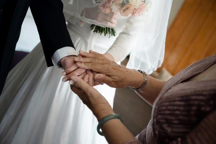 迎娶儀式中的交手