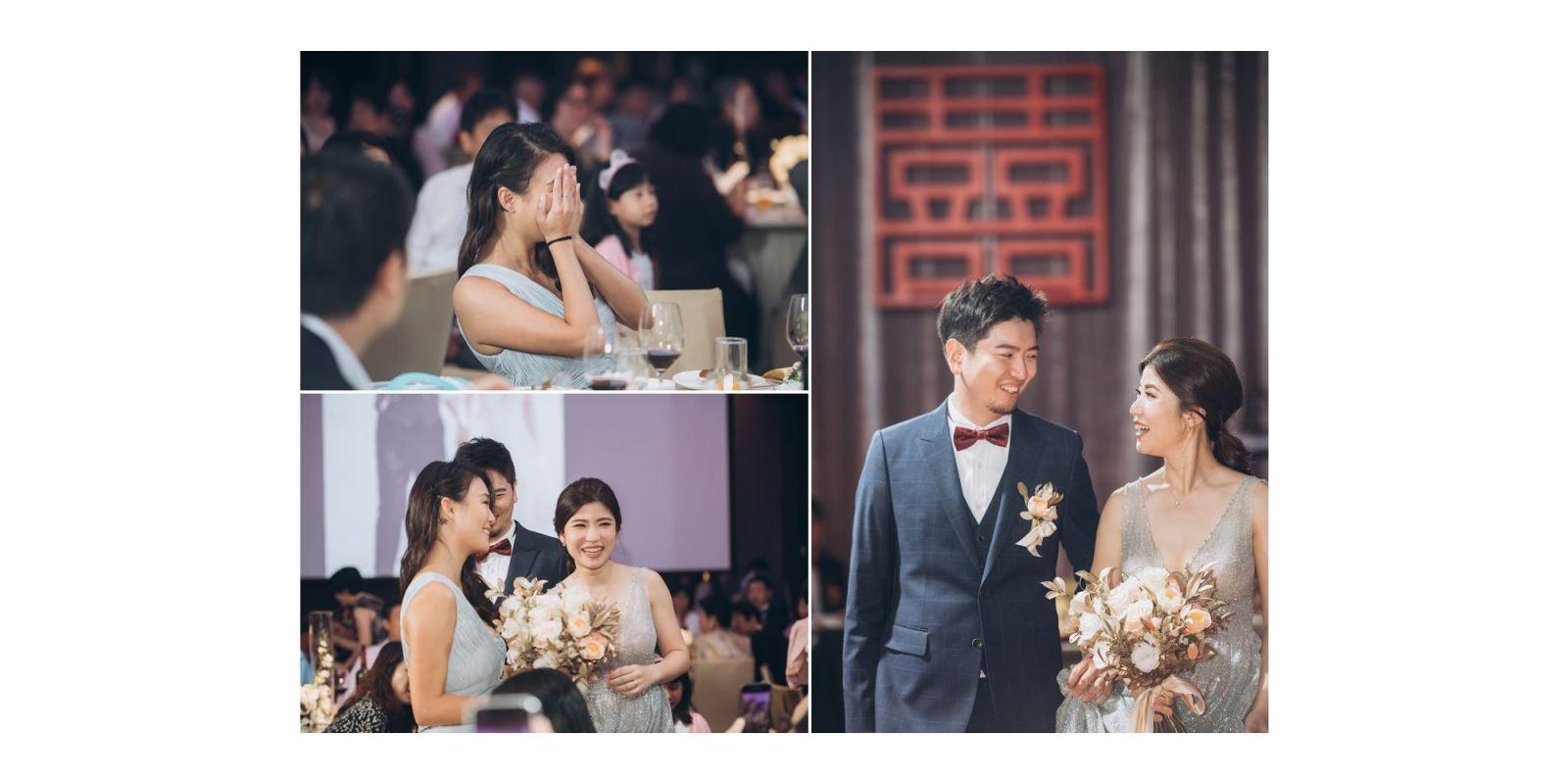 捧花活動, TWO in ONE婚禮主持人會提供多種選擇讓新人挑選.