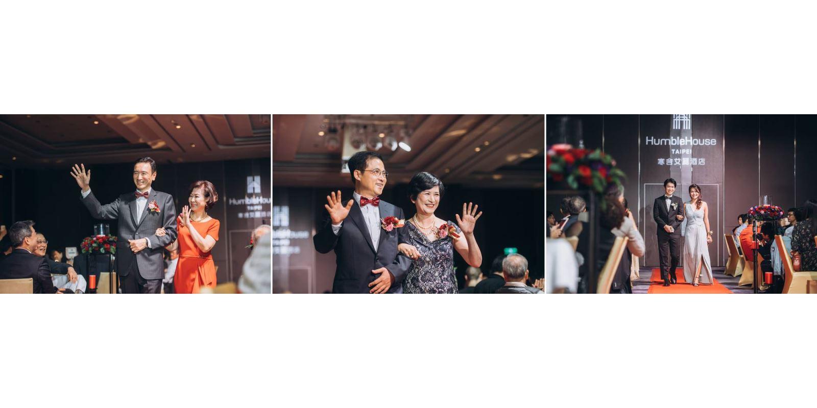 婚禮進場方式與順序, TWO in ONE婚禮主持人會給您方案選擇.