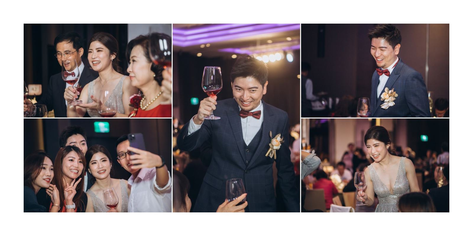 14.婚禮上的逐桌敬酒,可以很悠閒不倉促. TWO in ONE婚禮主持人會與你分享.