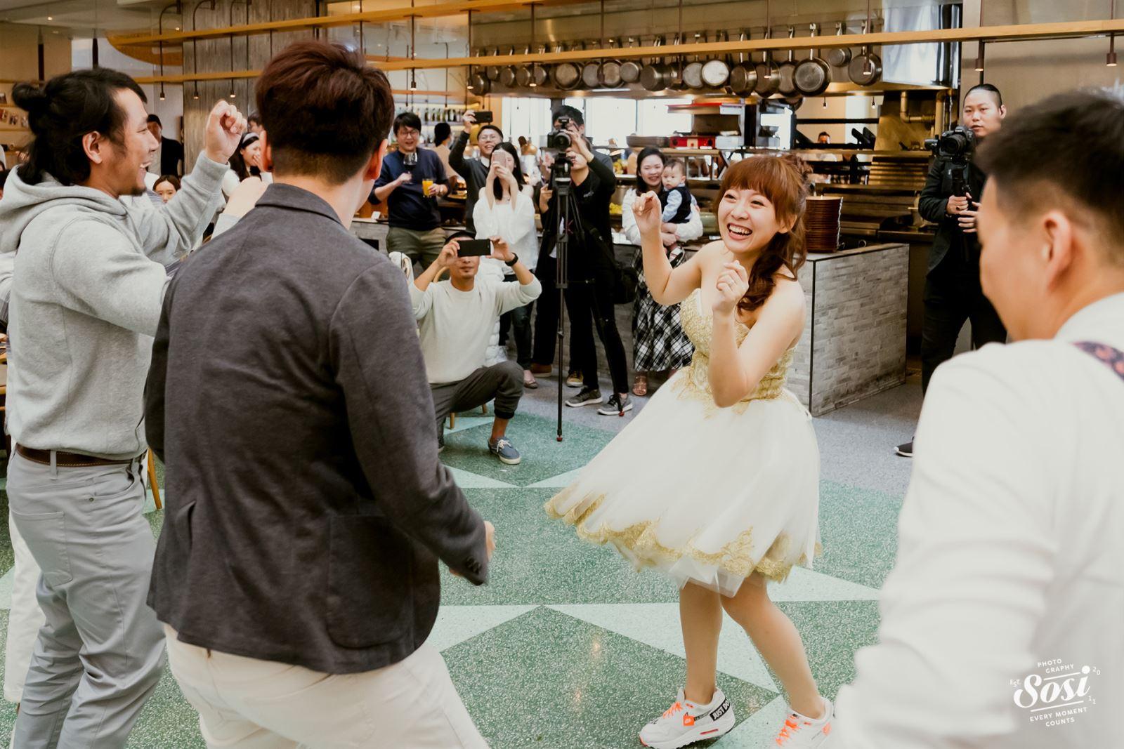 婚禮跳舞互動舞蹈