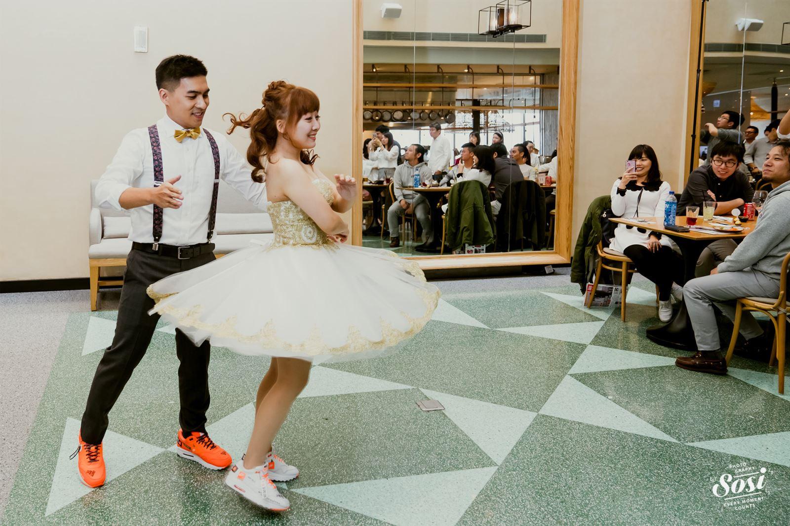 動感的婚禮舞蹈