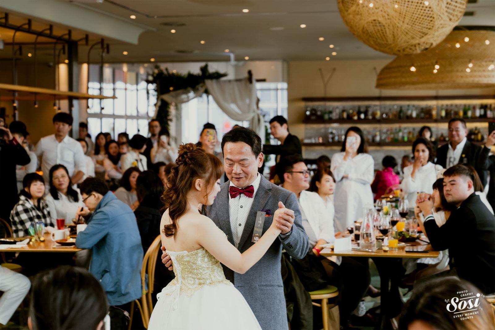 婚禮上與父親的第一支舞